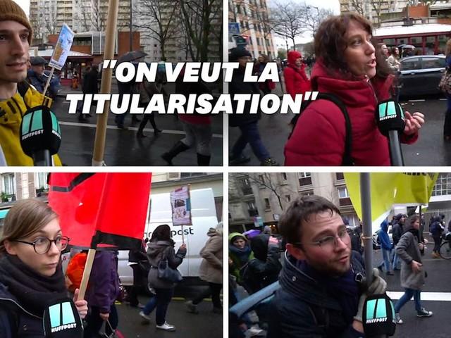 À Paris, plusieurs milliers de chercheurs dans la rue contre un projet de loi défavorable