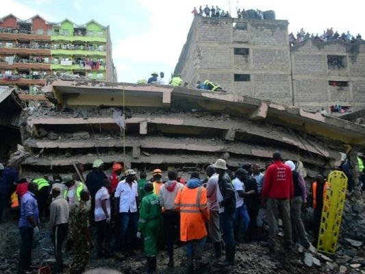 Kenya: au moins trois morts dans l'effondrement d'un immeuble à Nairobi