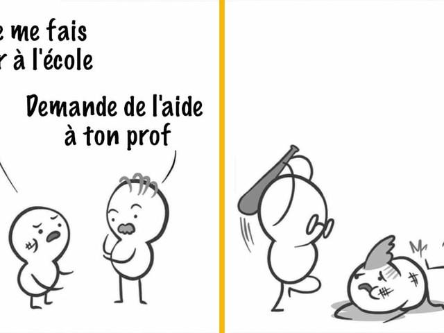 Top 15 des meilleures illustrations de Paincomics, aussi drôle que cruel
