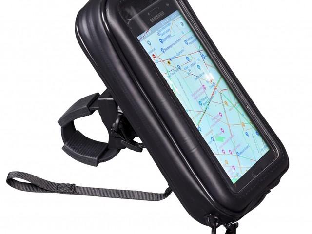 Pochette smartphone avec support guidon universel Bagster