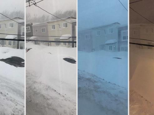 Une province du Canada ensevelie sous plus de 75 cm de neige après une IMPRESSIONNANTE tempête (vidéo)