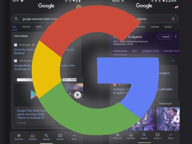 Google app : le mode sombre débarque sur Android 10, téléchargez l'APK