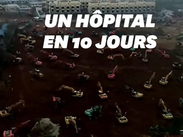 Face au coronavirus, la Chine va construire un hôpital en un temps record à Wuhan