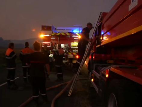 Incendie dans l'Aude: près de 150 hectares de pinède brûlés, des évacuations