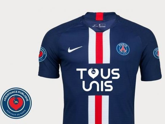 Foot - PSG - Coronavirus - Coronavirus: le PSG met en vente un maillot collector pour les hôpitaux de Paris