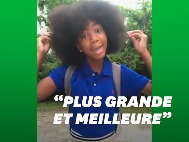 Cette fillette célèbre sa coupe afro pour contrer les moqueries