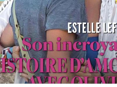 Estelle Lefébure, le bonheur, incroyable histoire d'amour avec Olivier (photo)