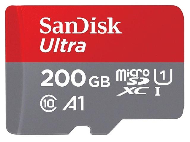 Bon plan : une carte mémoire microSD SanDisk 200 Go à 45 euros