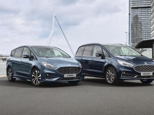 Ford dévoile les S-Max et Galaxy hybrides