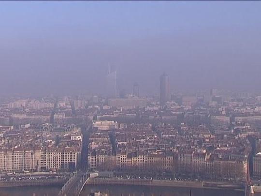 Pollution: circulation différenciée à Lyon le 23janvier