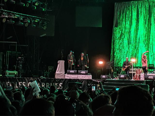 Vieilles Charrues : ce jour où Iggy Pop a fini son concert malgré une luxation de l'épaule
