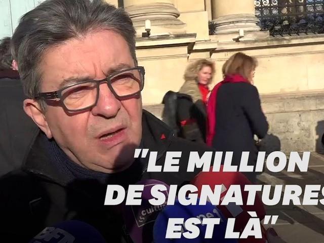 """Avec le million de signatures ADP, Macron est """"pris à son propre piège"""""""