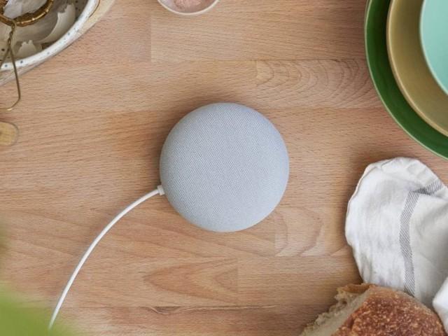 Google dévoile sa nouvelle Nest Mini, une mise à niveau de la Home Mini