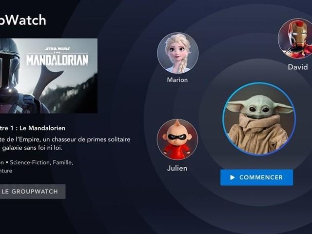 Actualité : La fonction GroupWatch de Disney+ est disponible sur la version française