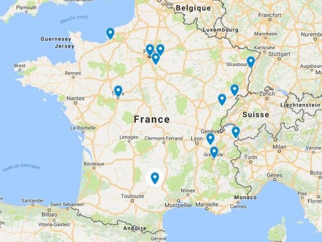 Ornans, Strasbourg, Tours... la carte des inondations en France (hors Paris)