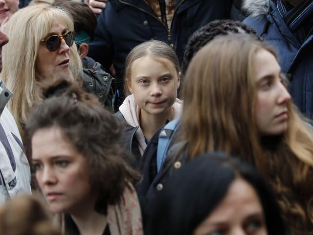 Grève du climat: avant Davos, Greta Thunberg à Lausanne avec des milliers de jeunes