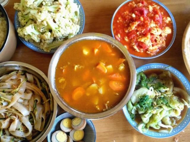 Cuisine chinoise et GMS
