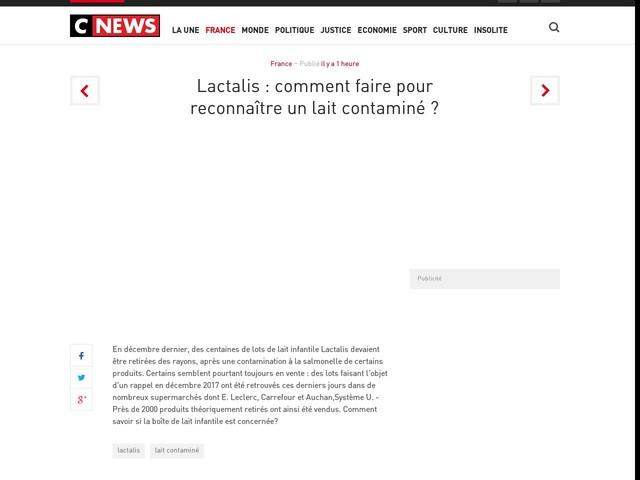 Lactalis : comment faire pour reconnaître un lait contaminé ?