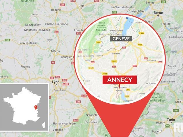 Annecy : un violent incendie en cours à la mairie