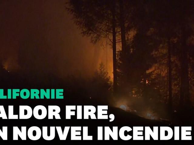 Le Caldor Fire, nouveau feu de forêt hors de contrôle en Californie