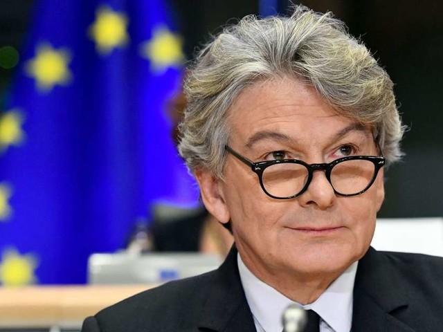 La candidature de Thierry Breton à la Commission européenne validée par les eurodéputés