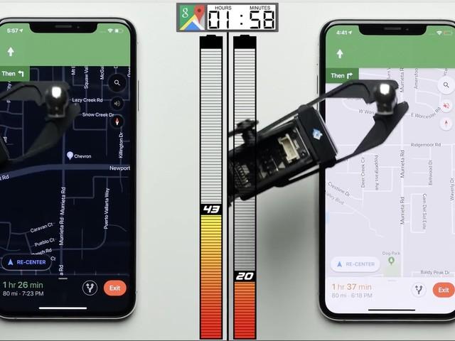 Vidéo: 30% d'autonomie en plus avec le mode sombre d'iOS 13 (et un écran OLED)