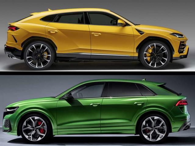 Audi RS Q8 vs Lamborghini Urus : duel de super poids lourd !