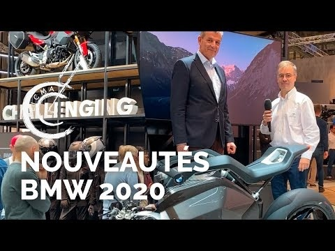 Nouveautés motos BMW 2020