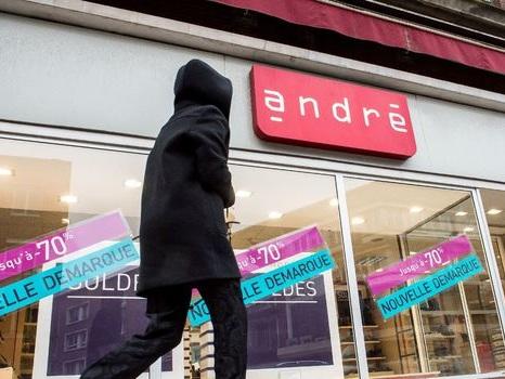 L'enseigne de chaussures André, première entreprise victime du coronavirus