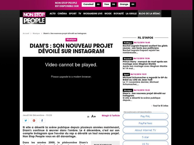 Diam's : Son nouveau projet dévoilé sur Instagram