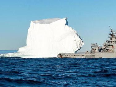 Les militaires investissent l'Arctique – La marine nationale dans les glaces
