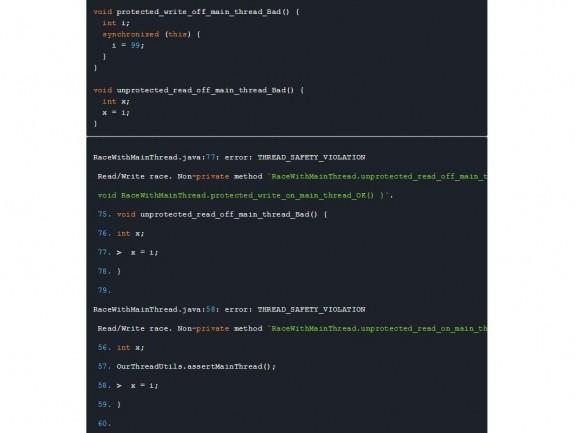RacerD détecte les problèmes d'interférence dans Java
