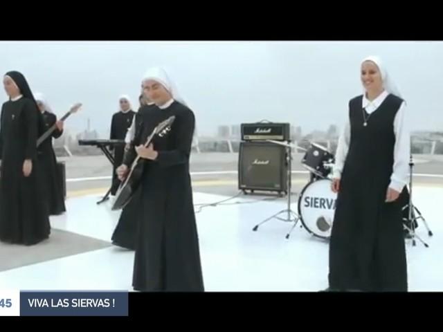 """Las Siervas"" : qui sont ces religieuses rockeuses ?"