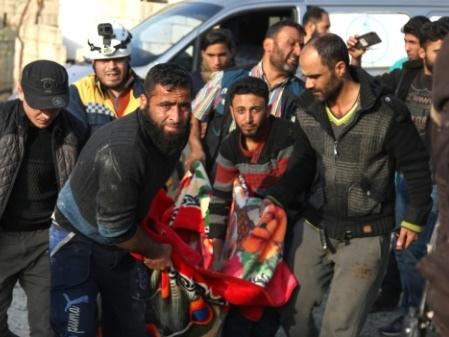 Syrie: sept civils tués dans des raids aériens russes sur Idleb, selon une ONG