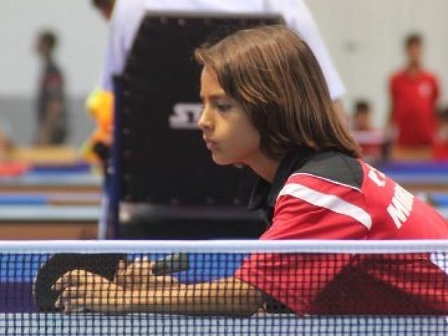 Kamil Antoine Leroy, espoir marocain du tennis de table à seulement 12 ans