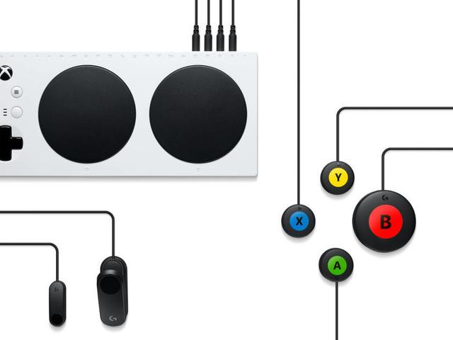 Handicap : Logitech annonce des accessoires pour la manette Adaptive de Microsoft