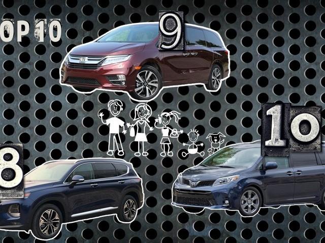 10 véhicules parfaits pour votre famille en 2019