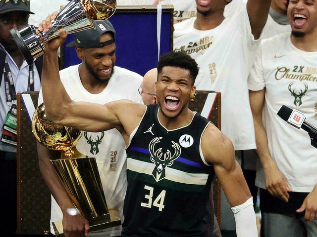 NBA: Milwaukee sacré pour la 2e fois, 50 ans après, Giannis dans la légende