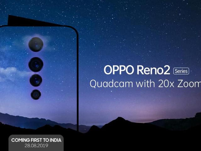 Oppo Reno 2: avec un quadruple capteur photo et un zoom 20x!