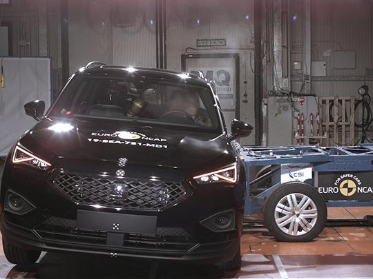 Seat Tarraco : cinq étoiles aux tests de sécurité Euro NCAP