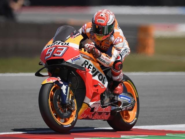 MotoGP : Marquez en pole, Quartararo 3e sur la grille