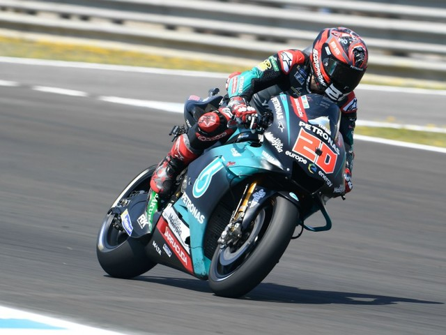 Tests MotoGP: Quartararo au sommet