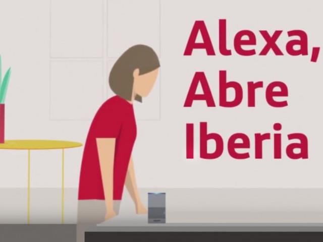 Iberia dévoile une nouvelle fonctionnalité vocale sur Alexa