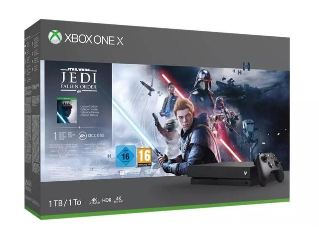Pour Noël, la console Xbox One X se met en pack avec un jeu pour 329€