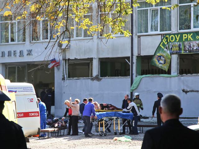 Au moins 18 personnes tuées dans une fusillade visant un lycée en Crimée