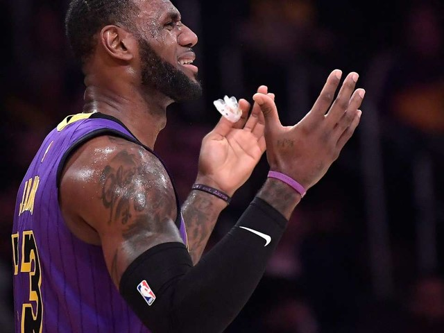 NBA : Les Lakers de LeBron James éliminés de la course aux play offs