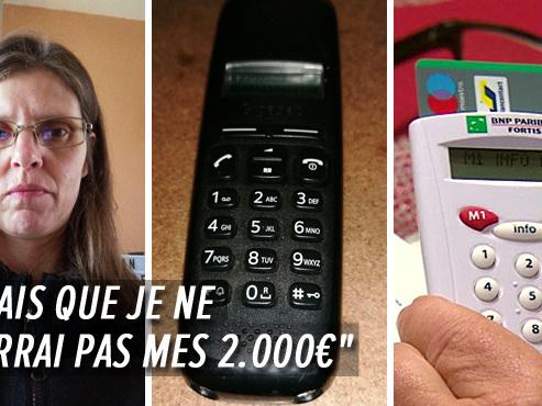 """L'arnaque téléphonique à la Commission Européenne a frappé Sylvie, elle a perdu 2.000 euros à Thuin: """"C'était l'héritage de mon frère"""""""