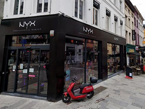 L'Oréal va fermer ses 6 boutiques de maquillage Nyx Cosmetics en Belgique