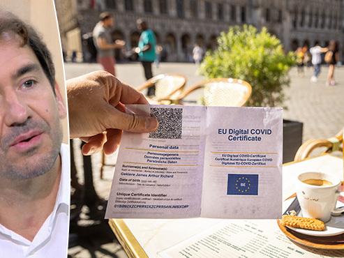 Extension du Covid safe ticket à Bruxelles: l'efficacité de cette mesure n'est pas certaine, selon l'expert Marius Gilbert