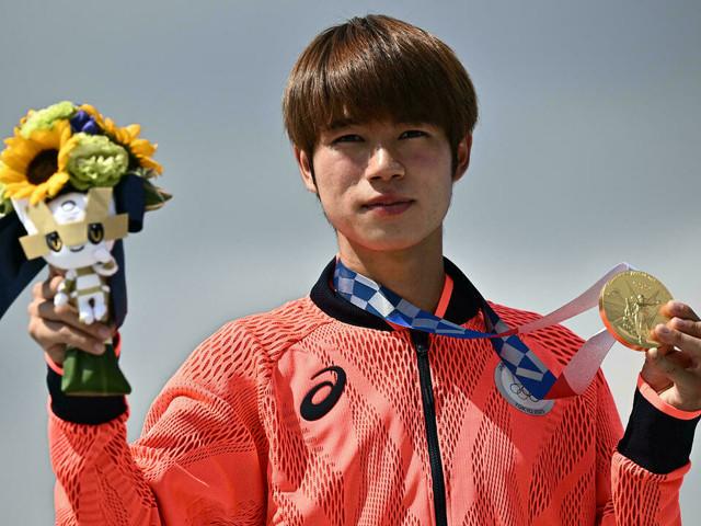 JO-2020: le Japonais Yuto Horigome premier champion olympique de l'histoire en skateboard